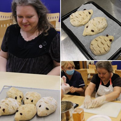 Hedgehog buns are a hit at Alan Shearer Residential
