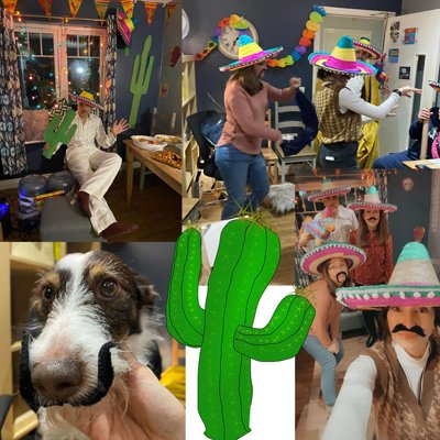 Feeling good and keeping active with Mexican Day