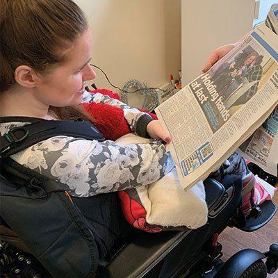 Beth's visit makes headlines