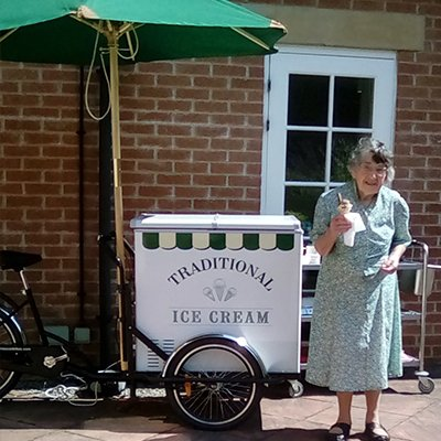 It's official – according to our residents St Catherine's Nursing Home serves the best ice cream in town!