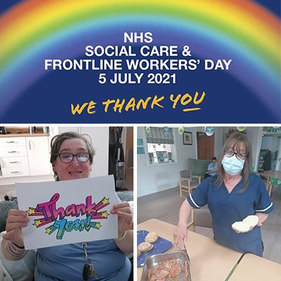 Celebrating NHS, Social Care and Frontline Workers' Day