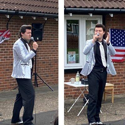 Elvis Entertains