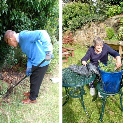 Hughie and Val get to work